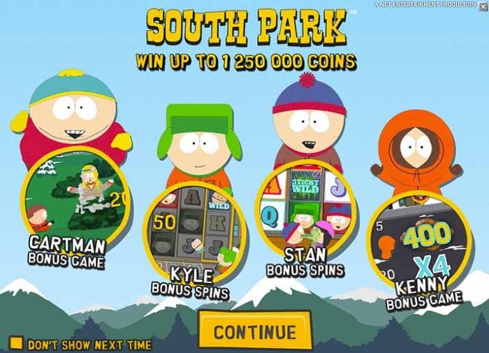 Znalezione obrazy dla zapytania Игровой автомат South Park