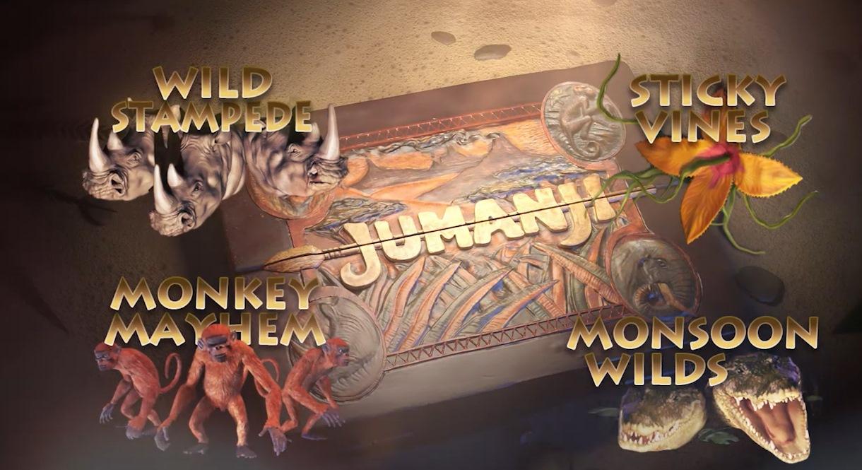 Jumanji - новая игра от NetEnt