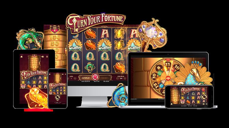 Новый игровой автомат Turn Your Fortune от Netent